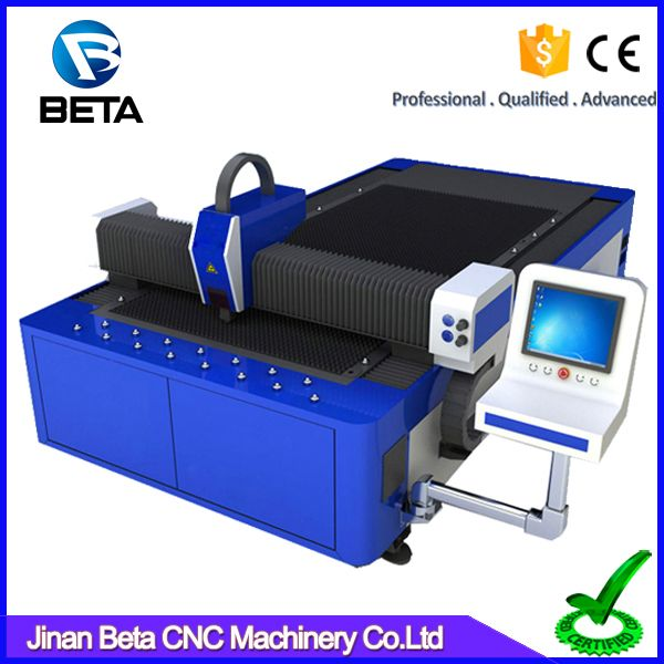 Jinan high quality factory provided 300W 500W 750W carbon steel stainless metal sheet fiber laser cutting machine price