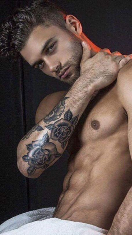 from Julio famous hot guys with tattos