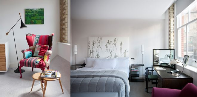 VOGUE lifestyle | travel | ロンドンの注目エリアに建つテレンス・コンランのホテルでおしゃれなアートに出会う。 | 1