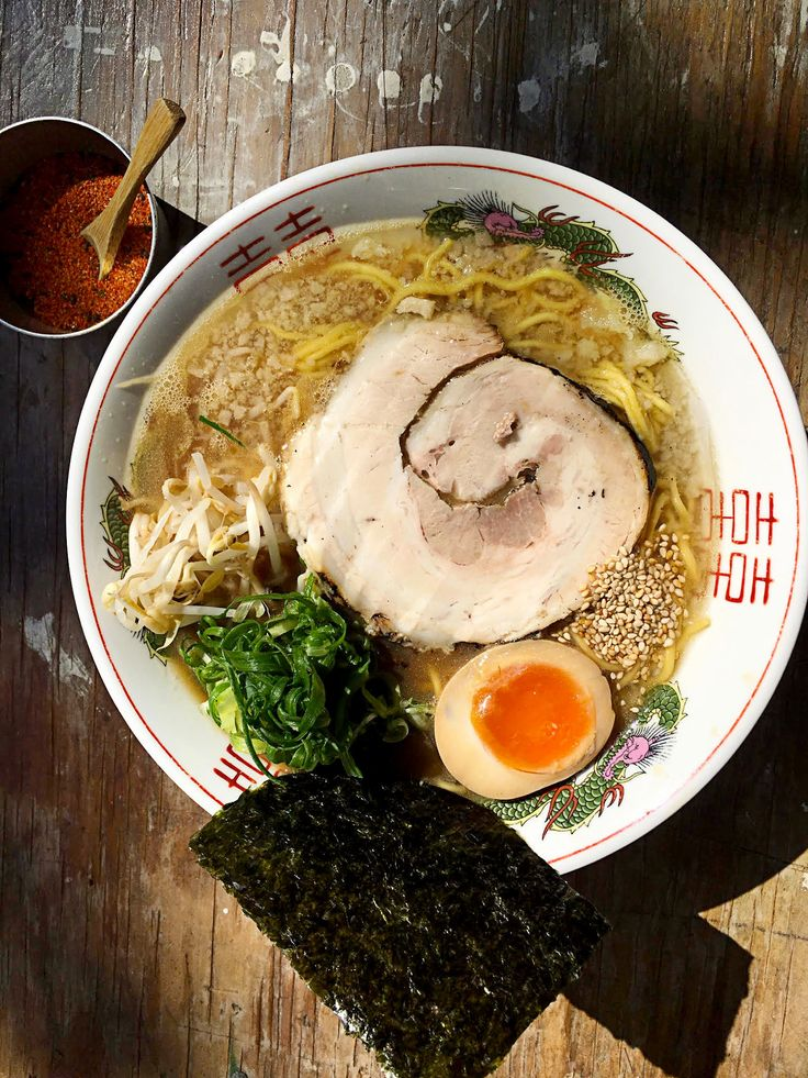 This is not just any ramen, Sydney. This is the real deal. Owner and chef Keita Abe is from Fukuoka in Japan, the home of tonkotsu ramen.