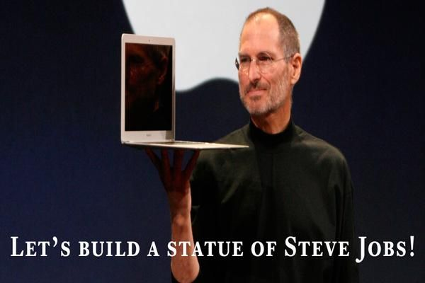 Indiegogo Project Launched To Create Steve Jobs Statue