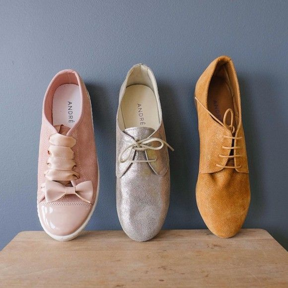 da655d468c7b39 nouvelle collection ss. Andre Andre chaussures a lacets andre