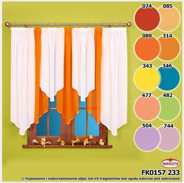 Bianka #firanka_gotowa 150 x 370 cm Gustowna firanka Bianka z gładkiego wysokiej jakości woalu.  Firanka została obszyta lśniącą lamówką. Firanka została uszyta na taśmie marszczącej, dzięki której z łatwością umarszczysz firankę do pożądanego rozmiaru.   Niska cena i duży wybór kolorów to niewątpliwie duże zalety tej firanki.   Kolor: biały i  żółty ( nr 343)  Rozmiar:  wysokość: 150 cm szerokość: 370 cm ( użytkowa 180 cm z możliwością regulacji na taśmie). .  kasandra.com.pl