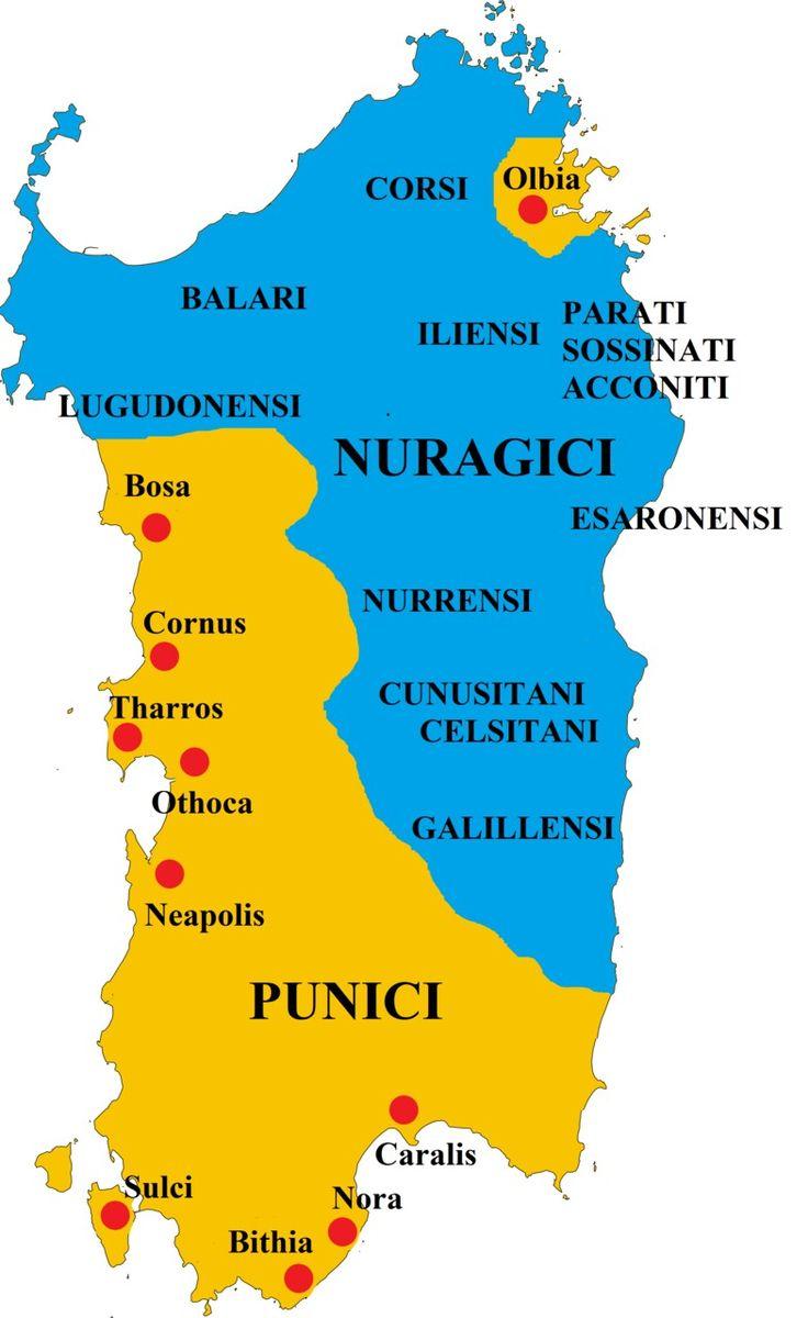 Parziale conquista Cartaginese della Sardegna