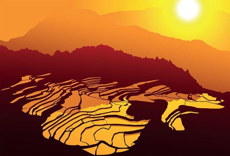 フィリピンで「天国へ昇る階段」と呼ばれる畑が美しすぎる!「コルディリェーラの棚田群」の絶景と歴史 | wondertrip 旅行・観光マガジン