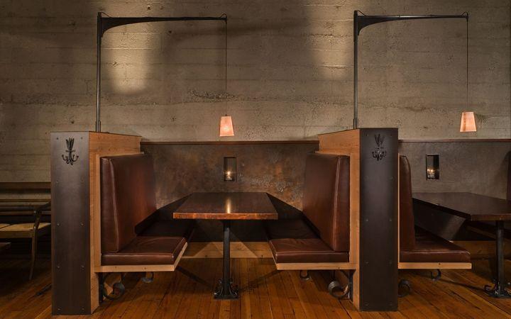 Osteria La Spiga restaurant by Graham Baba Architects, Seattle Washington hotels and restaurants