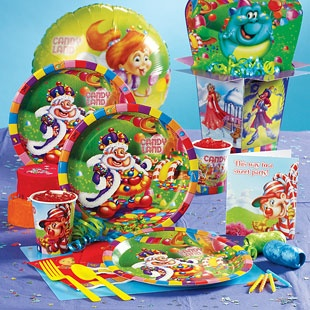 Candyland party supplies