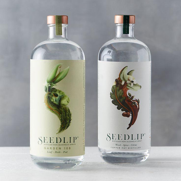 Family label design | Seedlip Garden Non-Alcoholic Spirits