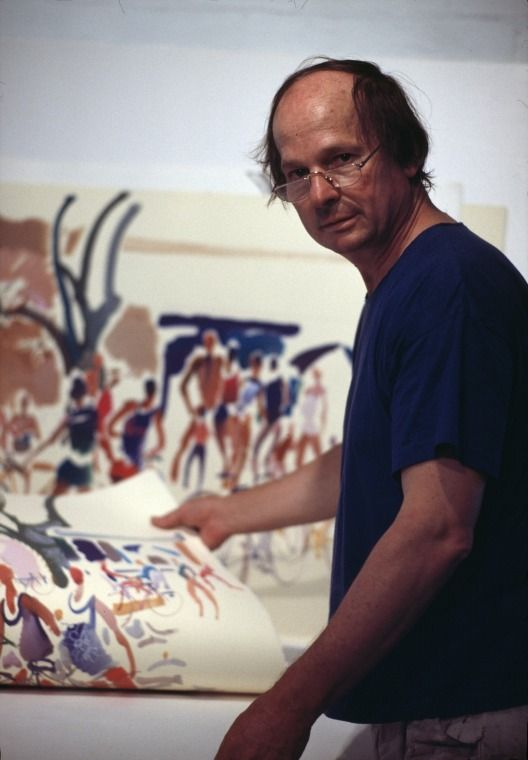 215756PD: David Gregson, artist, c1987.  http://encore.slwa.wa.gov.au/iii/encore/record/C__Rb2449948__S215756pd__Orightresult__U__X3?lang=eng&suite=def