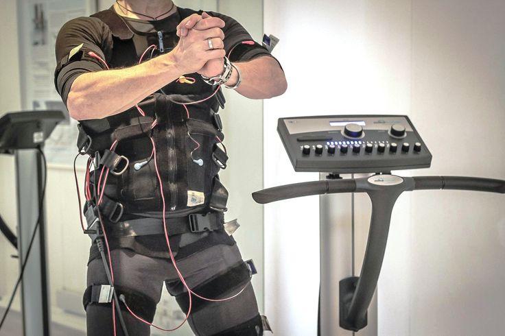 Electro Muscular Stimulation (EMS) Electrode vest and straps