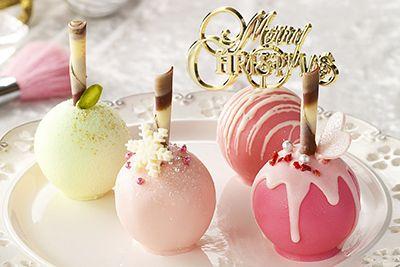 ロリポップキャンディー型のクリスマスケーキ「ロリポップル」品川プリンスホテルから登場