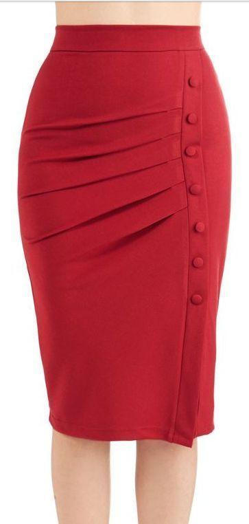 d009a3191 Modelos de faldas modernas y elegantes #elegantes #faldas #modelos ...