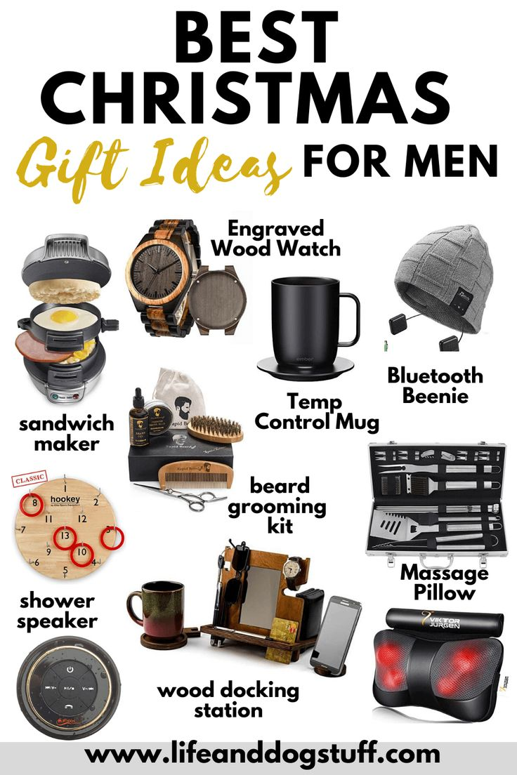 20+ Best Christmas Gift Ideas For Men 2019 (With images ... Gift Ideas For Christmas 2019