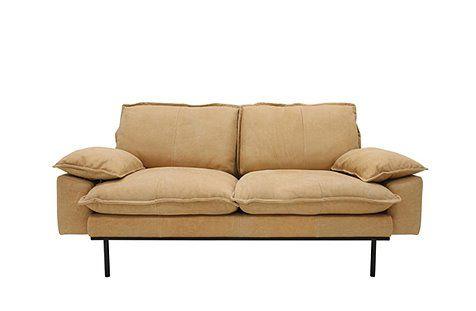 Retro 2er Sofa Von Hk Living