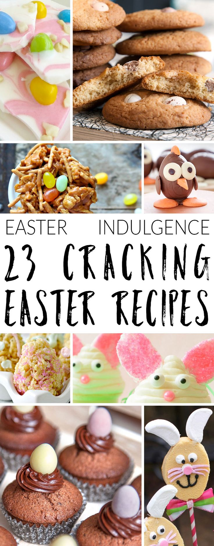 The long weekend is a great opportunity to get in the kitchen and whip up some deliciousness to fill your Easter table and put a smile on everyone's face.  I've done the hard work for you and rounded up all manner of amazing recipes, read on for Easter indulgence inspiration!