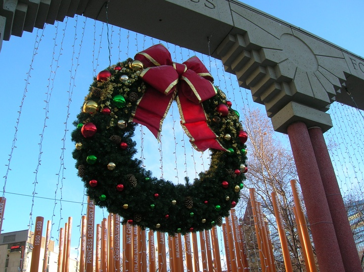 Calgary - Xtmas decoration.