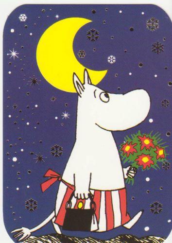 Postcard with Moomin Mamma