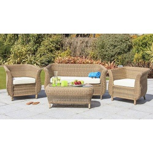 garden furniture   cozy bay jamaica 4 seater rattan