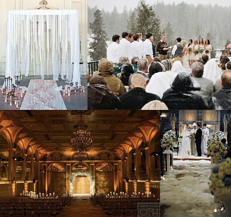 Winter Wedding Ceremony Ideas: 17+ Best Ideas About Winter Wedding Ceremonies On