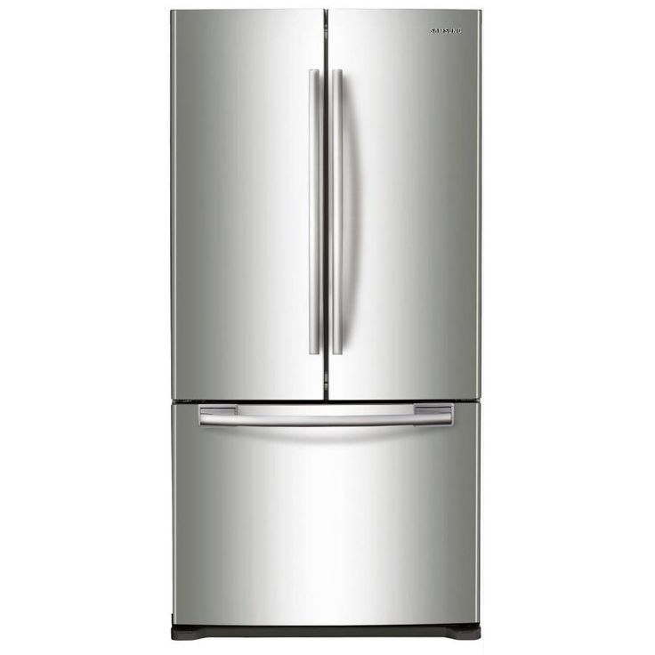 Samsung 17.5 Cu Ft Counter Depth French Door Refrigerator With Ice Maker  (Stainless