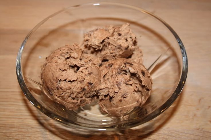 LCHF Cookie Dough Chockolate Chip Ice Cream