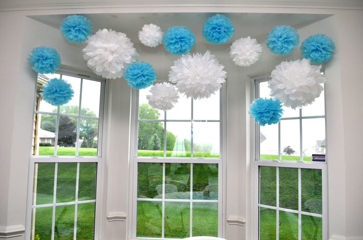 Baptism Window Decor