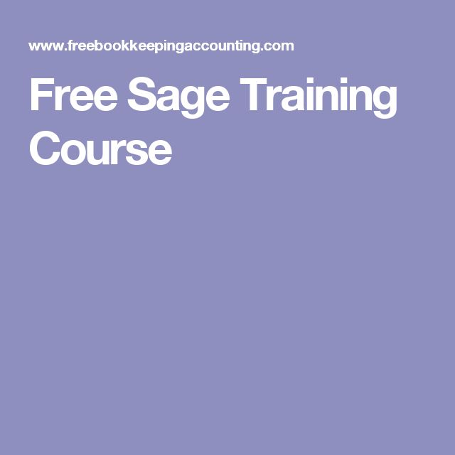 Free Sage Training Course