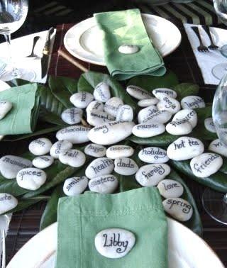 .: Decor Crafts, Tables Sets, Crafts Ideas, Thanksgiving Decor, Holidays Ideas, Places Sets, Places Cards, Thanksgiving Tables, Tables Decor