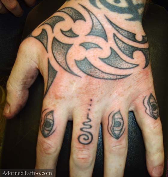 25 best ideas about tribal hand tattoos on pinterest for Finger tattoo care instructions
