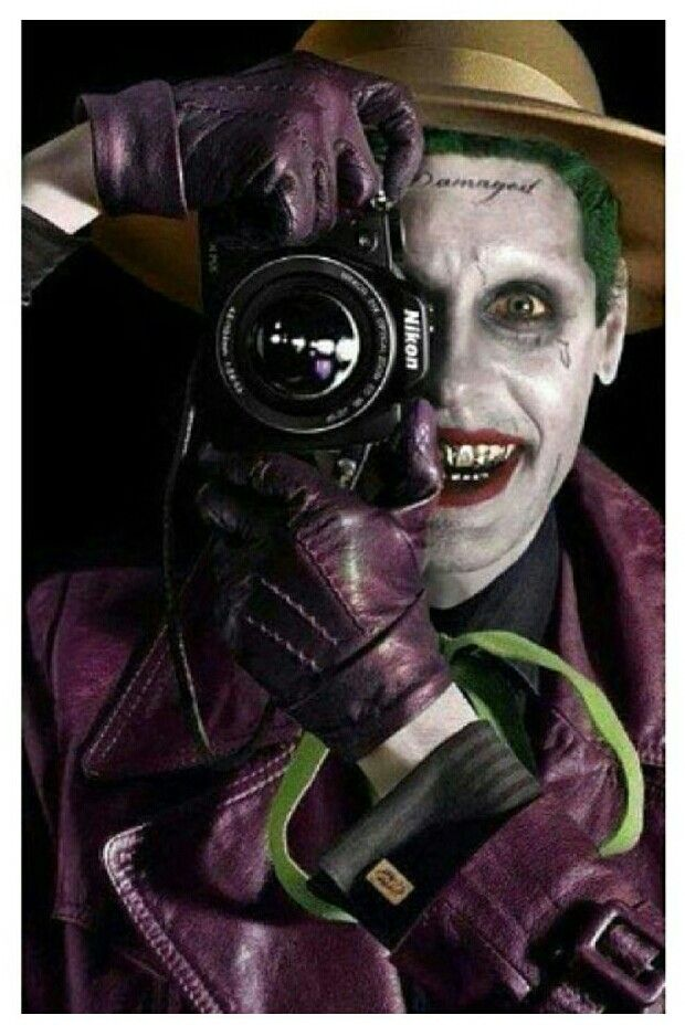 Leto Joker, The Killing Joke. (Batman) - love to have this as a poster!