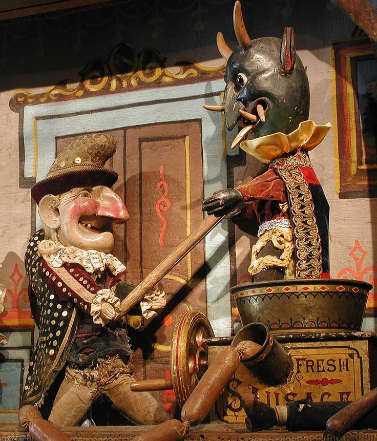 GUS WHITE'S PUNCH & JUDY The Mel Birnkrant Collection