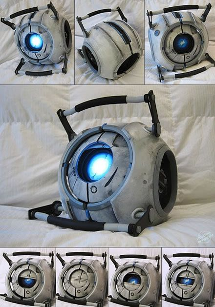 THIS IS AMAZING!!! Is anyone able to build me one of these? ---> Awesome Portal 2 Wheatley Puppet
