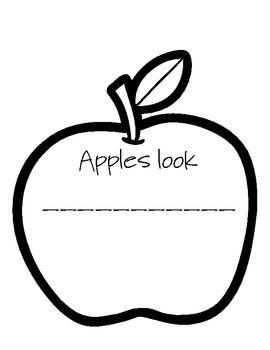Apple Investigation Journal {using the 5 senses