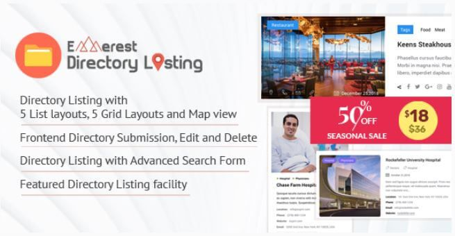 Everest Business Directory V1 2 1 A Directory Wordpress Plugin Wordpress Plugins Plugins Wordpress