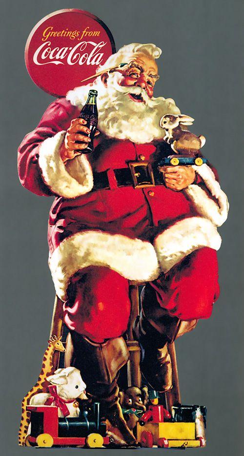 Coca-Cola Retro Poster Classic Christmas