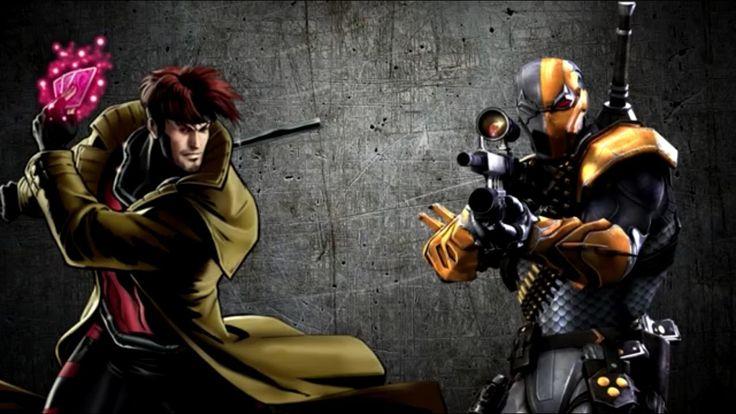 Гамбит против Дэфстроука | Gambit vs Deathstroke (Marvel vs DC Comics)