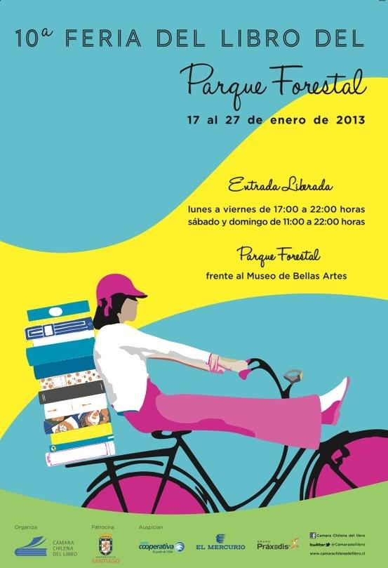 Parque Forestal Book Fair 2013 Design.
