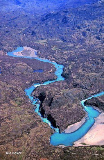 Rio Baker, Chile - La Región de Aisén (XI). Diario La Nación - noticias de Chile y el mundo - Con fotos y libro celebran 30 años de la Carretera Austral