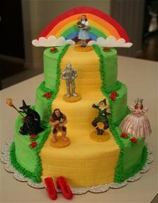 Wizard of Oz Cake ooh!! another one!!