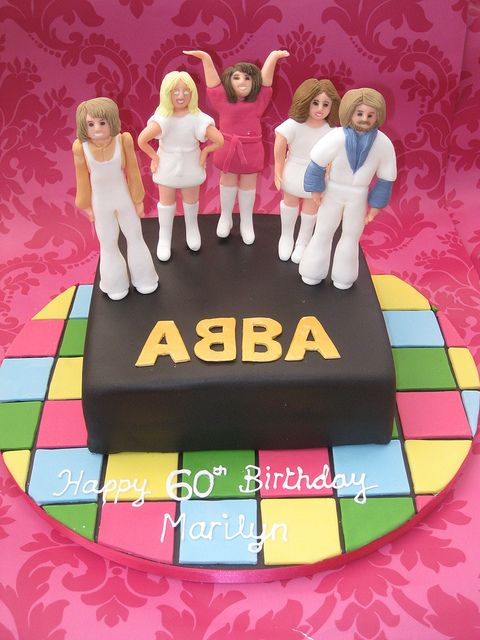 ABBA Cake | Flickr - Photo Sharing! Amei!!!