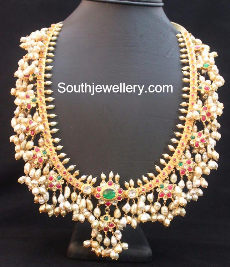 Guttapusalu Haram - Jewellery Designs