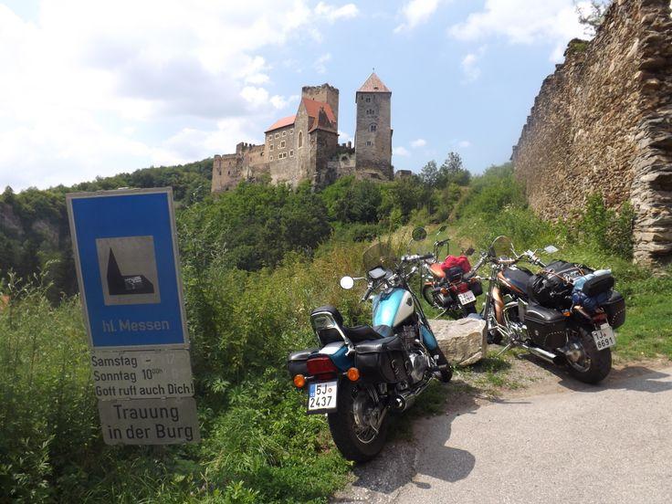 Návštěva hradu Hardegg.