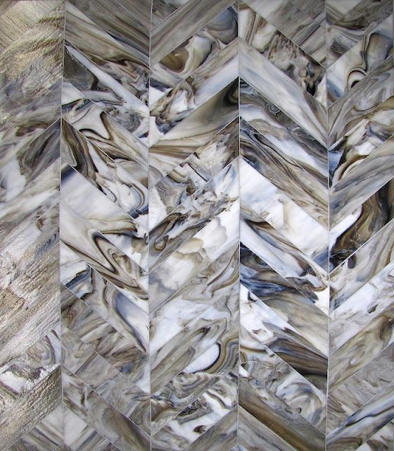 mixed-up mosaics chevron. hot-ness!