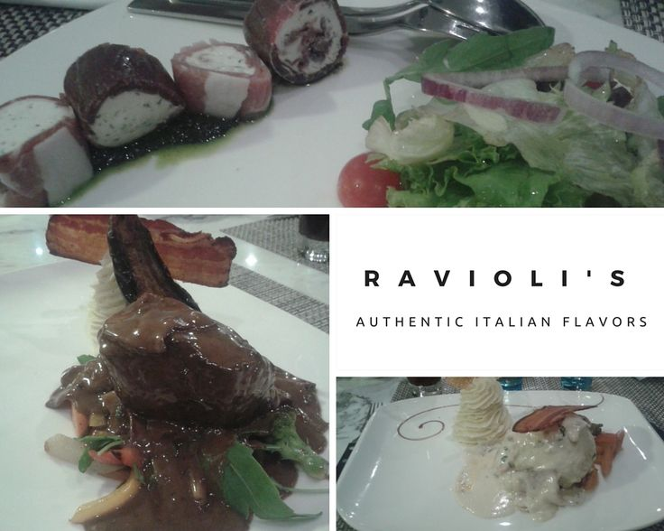 "Italians say ""l'appetito vien mangiando"" meaning ""the appetite comes while you're eating"". So join us for an ‪‎Italy‬-style taste journey at Ravioli's ‪Restaurant‬!"