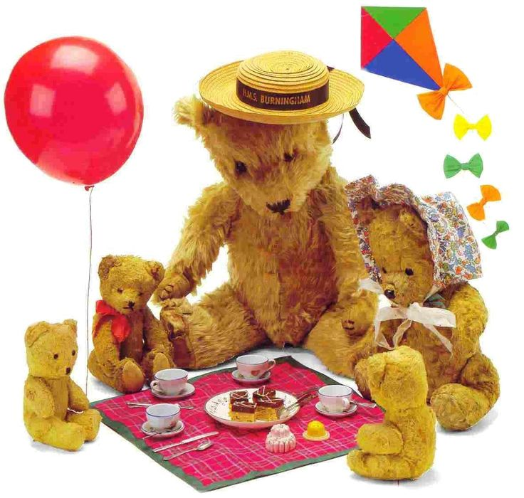 Teddy Bear Picnic ~ Saturday, April 26th @ 10:30 | Pierson Library