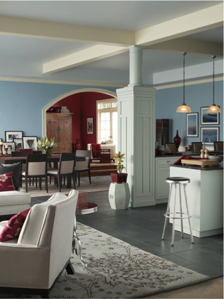 Sherwin Williams Something Blue Sw 6800 Paint Colors For Dining Rooms Pinterest Room