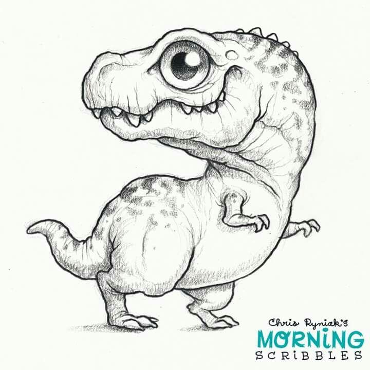 So cuute. A T-Rex. ^^