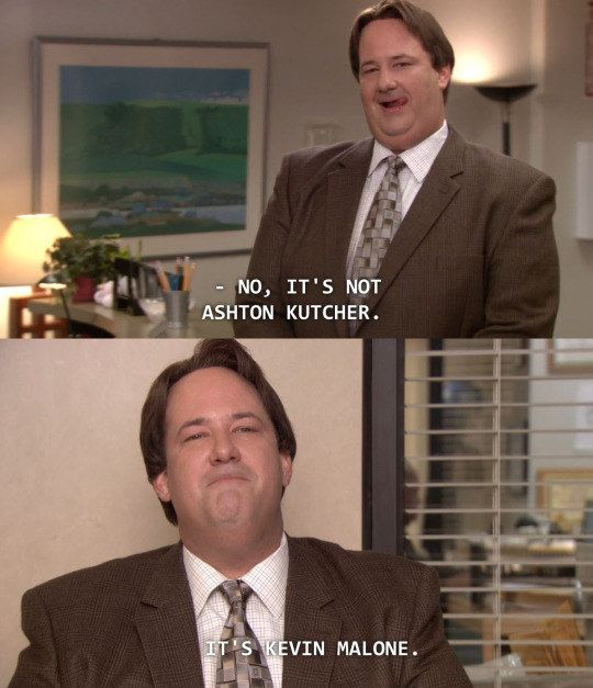 "When he wasn't afraid to flaunt it. | 21 Times Kevin From ""The Office"" Was A True Inspiration To Us All"