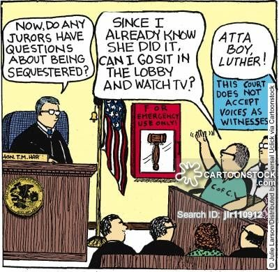 Jury Duty cartoons, Jury Duty cartoon, funny, Jury Duty picture, Jury Duty…