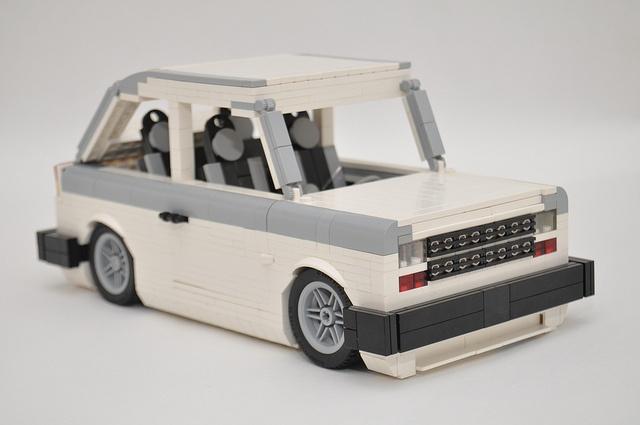 LEGO Fiat 147 by Gilcélio, via Flickr